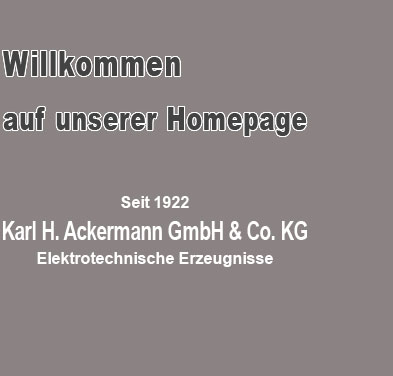 ackermann gmbh co kg. Black Bedroom Furniture Sets. Home Design Ideas